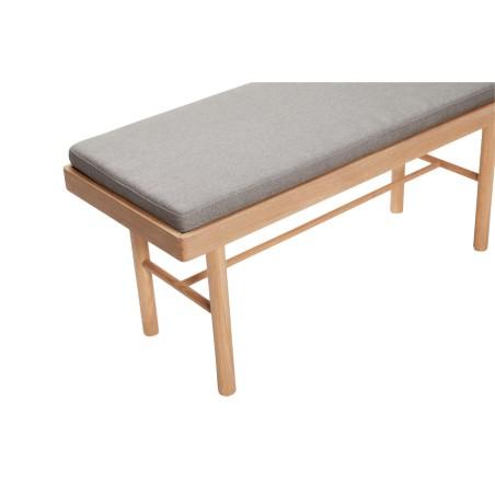 Ławka z poduszką OAK drewniana