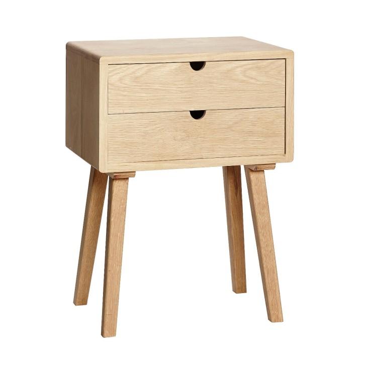 Komoda, stolik nocny YSTAD drewniana dębowa Hubsch 889003