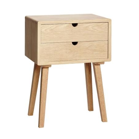Komoda, stolik nocny YSTAD drewniana dębowa