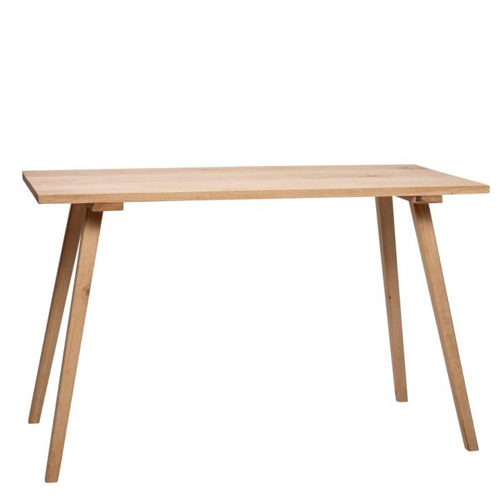 Stół drewniany do jadalni OAK 150 x 65 cm, kuchenny, dębowy Hubsch 888008