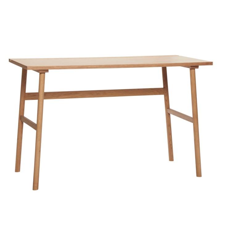 Biurko NATURE drewniane, dębowe 120 x 60 cm Hubsch 880704