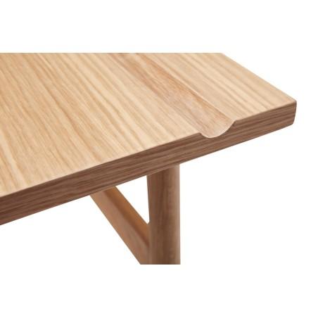 Biurko NATURE drewniane, dębowe 120 x 60 cm