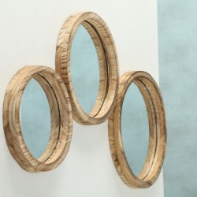 Lustro okrągłe JONES rozmiar L-35cm